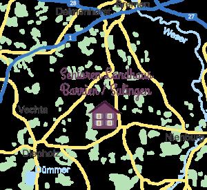 Pflegeheim Landhaus Barrien - südlich von Bremen im Landkreis Diepholz